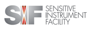 Logo for the Sensitive Instrument Facility at the Ames Laboratory